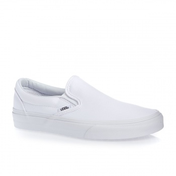Vans VANS CLASSIC SLIP-ON SHOES TRUE WHITE