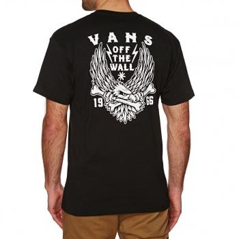 Vans VANS EAGLE BONES T-SHIRT BLACK