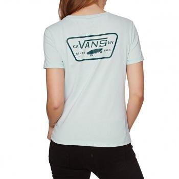 Vans VANS FULL PATCH CREW T-SHIRT BABY BLUE