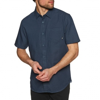 Vans VANS GIDDING DRESS BLUES SHORT SLEEVE SHIRT DRESS BLUES