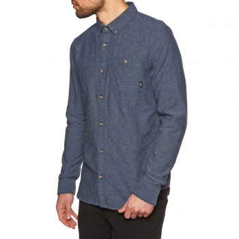 Vans VANS LONGDEN DRESS BLUES LONG SLEEVE SHIRT DRESS BLUES