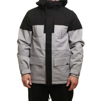 Volcom Volcom Alternate Ins Snow Jacket Heather Grey