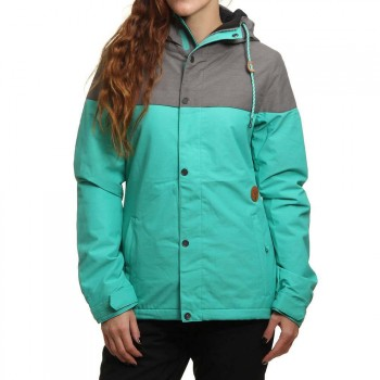 Volcom Volcom Bolt Insulated Snow Jacket Teal Green