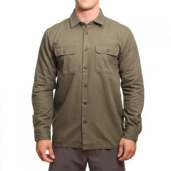 Volcom Volcom Crawford Long Sleeve Shirt Military