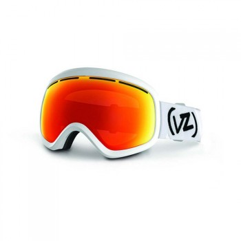 VonZipper VonZipper Skylab Snow Goggles White Satin/Fire Chr