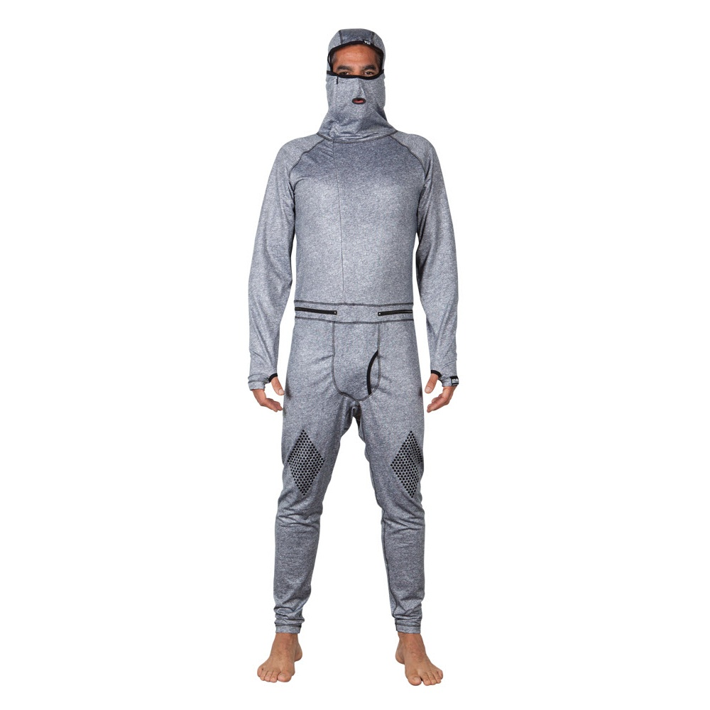 686 AIRHOLE THERMAL ONE PIECE MENS BASE LAYER 2015 IN HEATHER GREY S