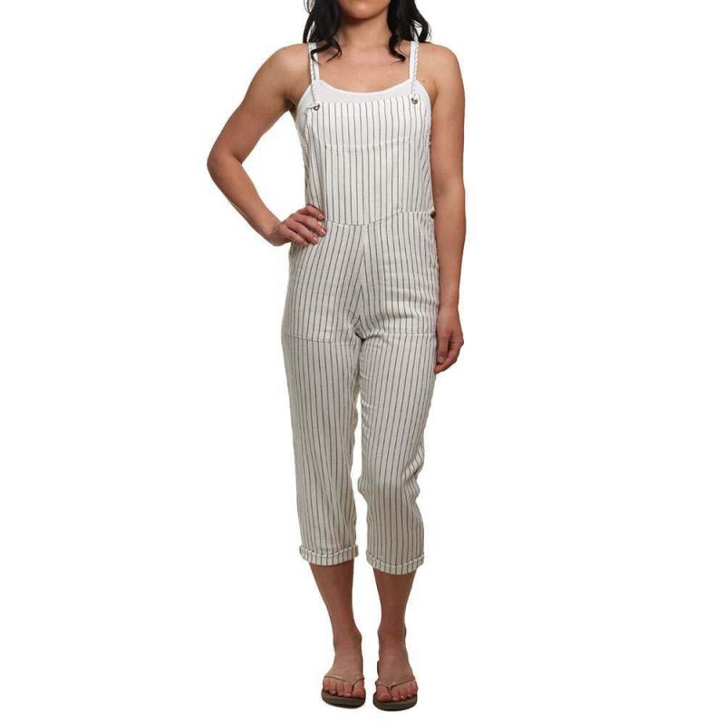 Amuse Society Overall Feeling Good Jumpsuit Blanc