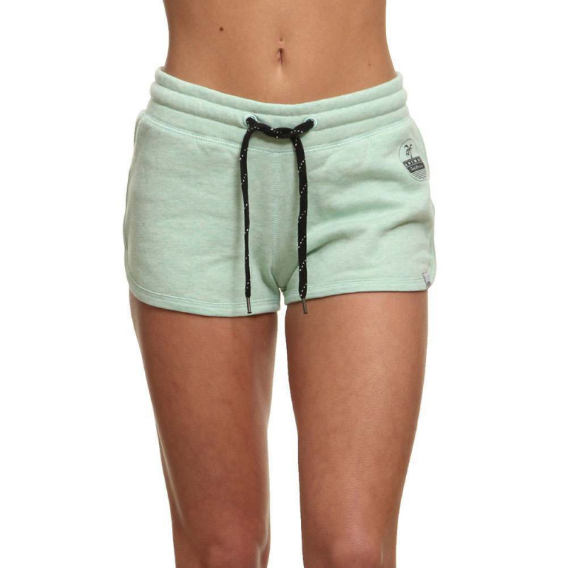 Animal Gerri Track Shorts Misty Mint Green Marl
