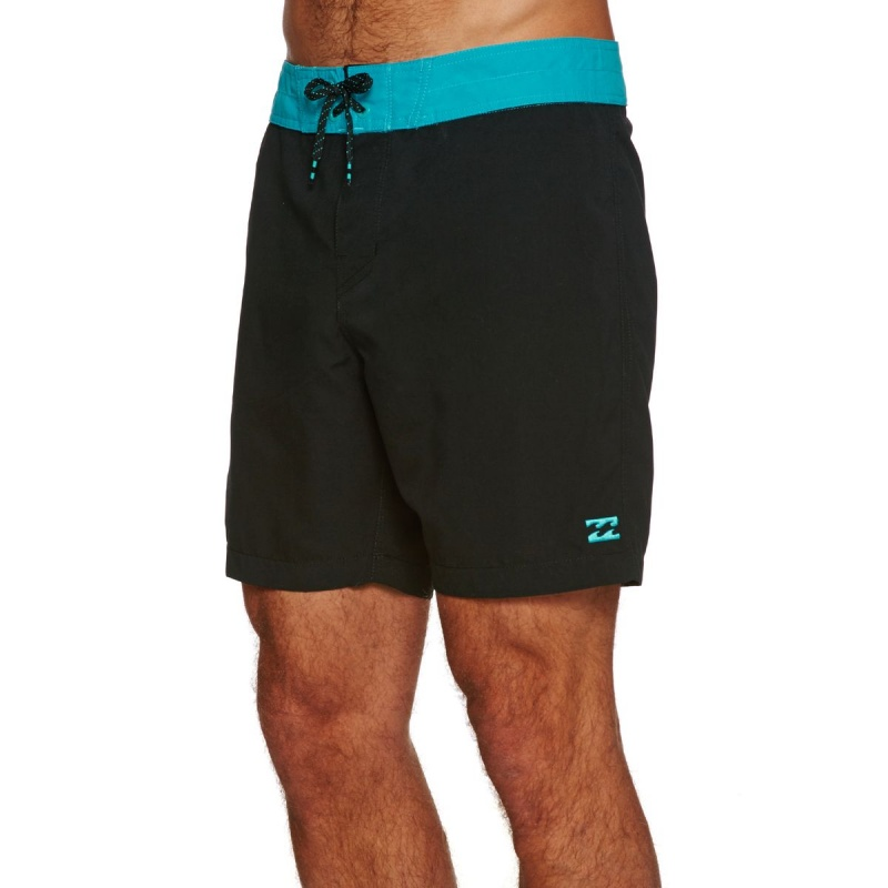BILLABONG ALL DAY 17 BOARD SHORTS BLACK