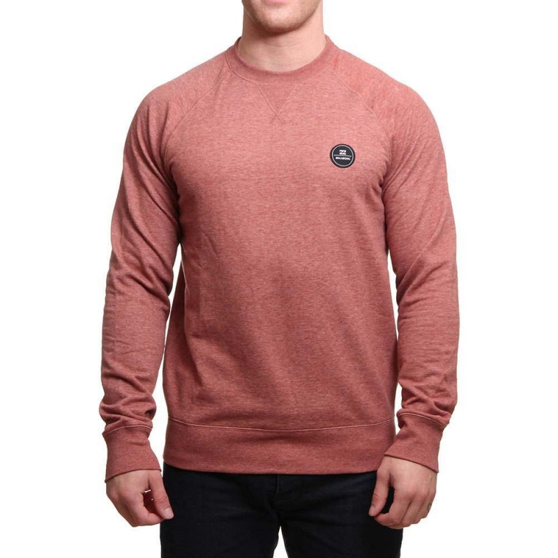 Billabong All Day Crew Red Clay