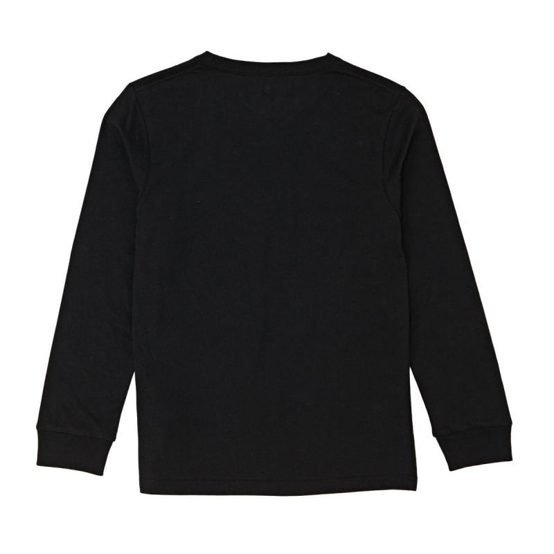 BILLABONG BALDWIN LONG SLEEVED T-SHIRT BLACK
