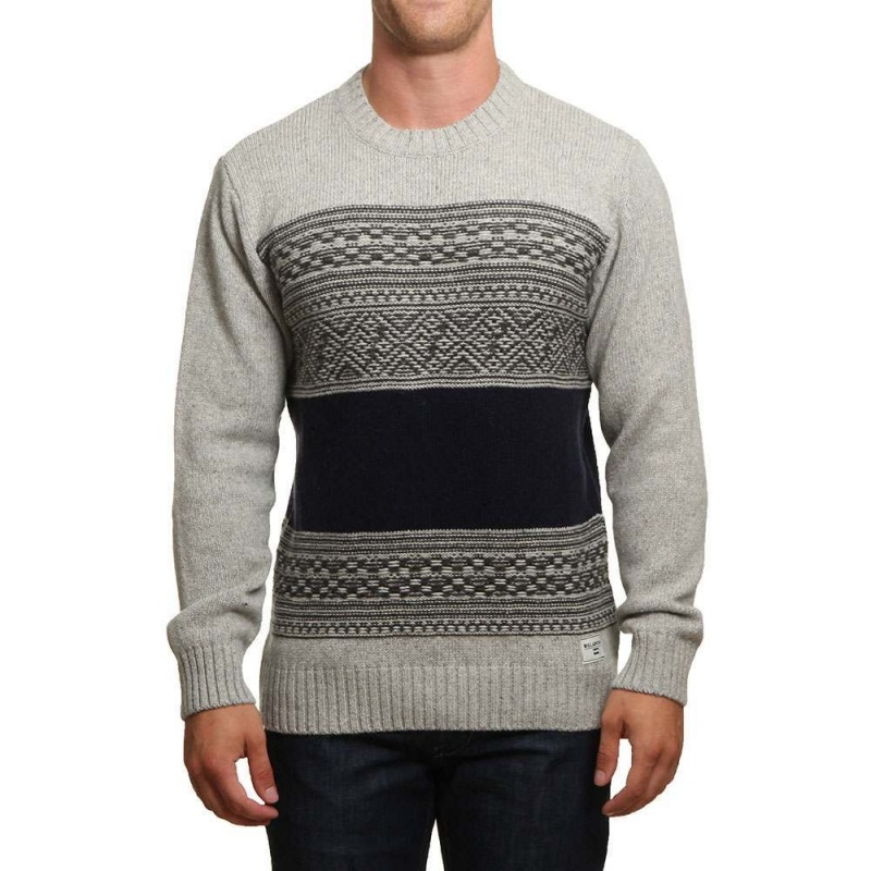 Billabong Mayfield Jumper Mid Grey Heather
