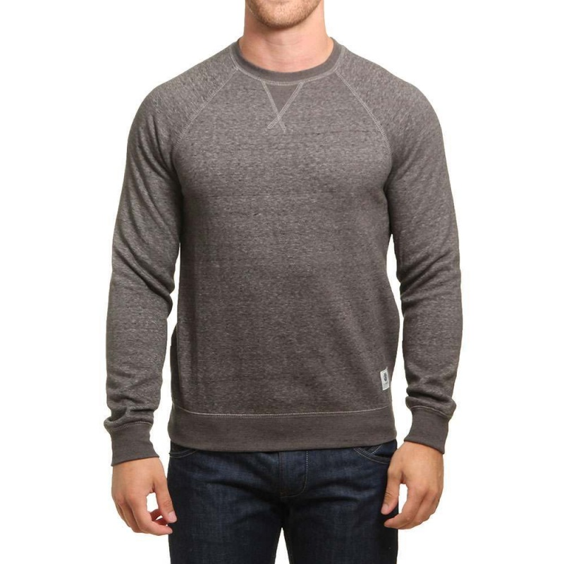 Element Meridian Crew Charcoal Heather
