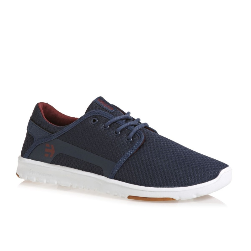 ETNIES SCOUT SHOES NAVY/RED