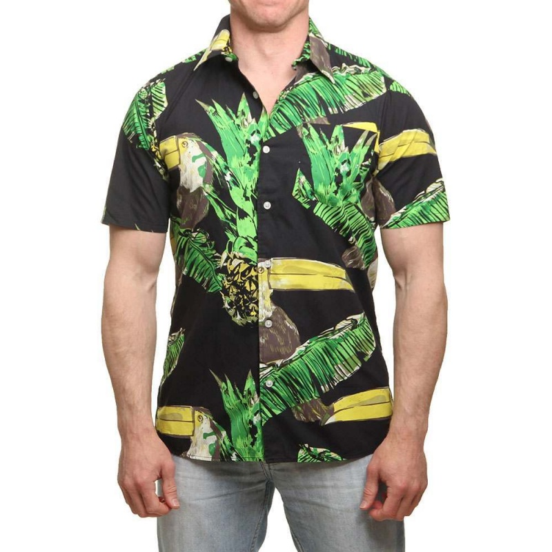 Hurley Toucan Shirt Black