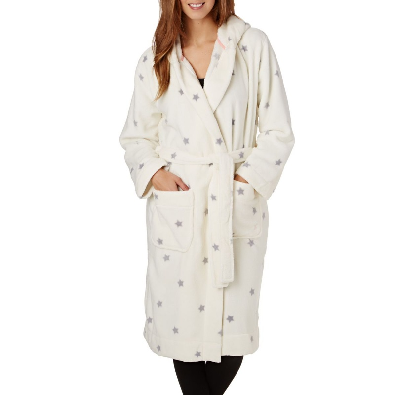 JOULES RITA DRESSING GOWN SILVER STAR