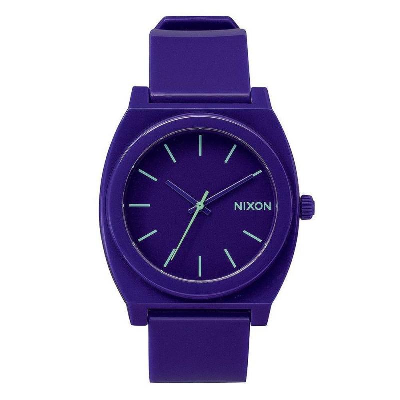 Nixon The Time Teller Watch Purple