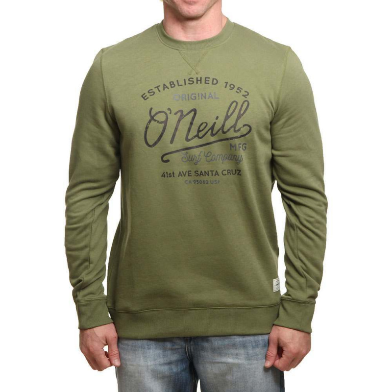 ONeill Type Crew Camp Green