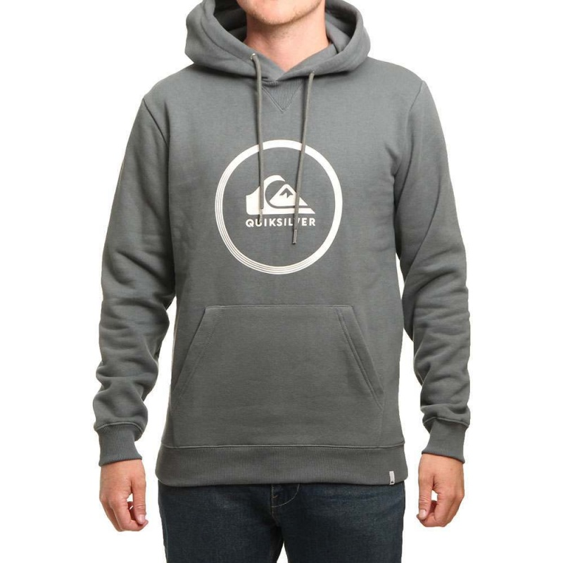 Quiksilver Big Logo Hoody Urban Grey