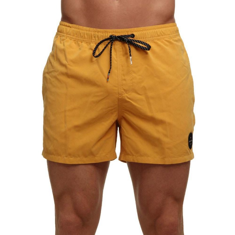 Quiksilver Everyday Solid Boardshorts Gold Glow