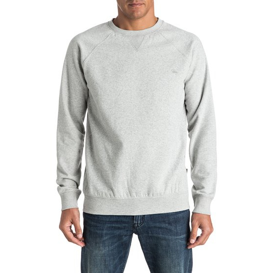 QUIKSILVER EVERYDAY-SWEATSHIRT FOR MEN-GREY