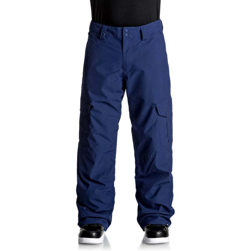 Quiksilver Porter Snow Pants Estate Blue