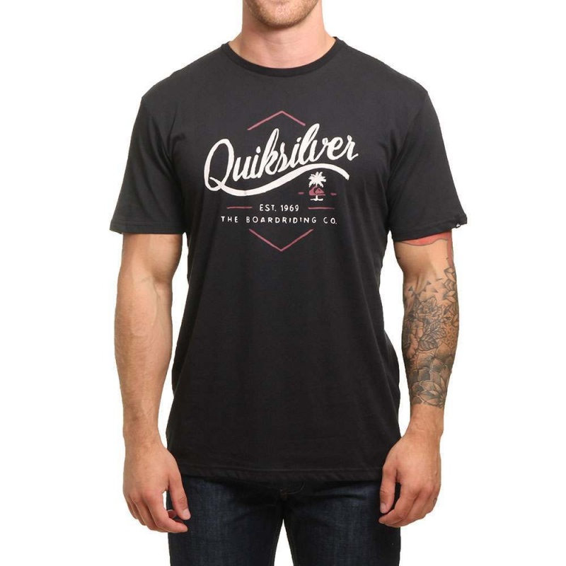 Quiksilver Sea Tales Tee Black