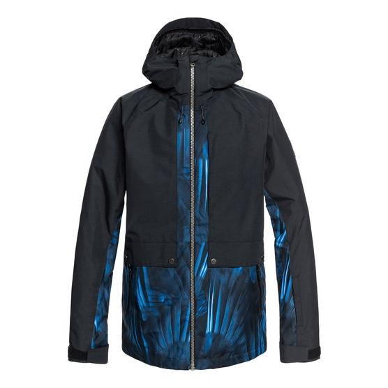 QUIKSILVER TR AMBITION-PARKA SNOW JACKET FOR MEN-BLUE