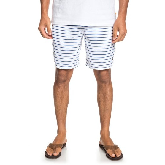 QUIKSILVER WATERMAN OUTTA SEA-ELASTICATED SHORTS FOR MEN-WHITE