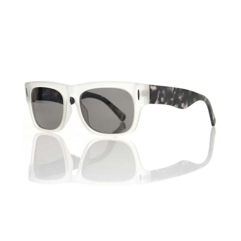 Raen Lenox Sunglasses Smoke Crystal Pebble