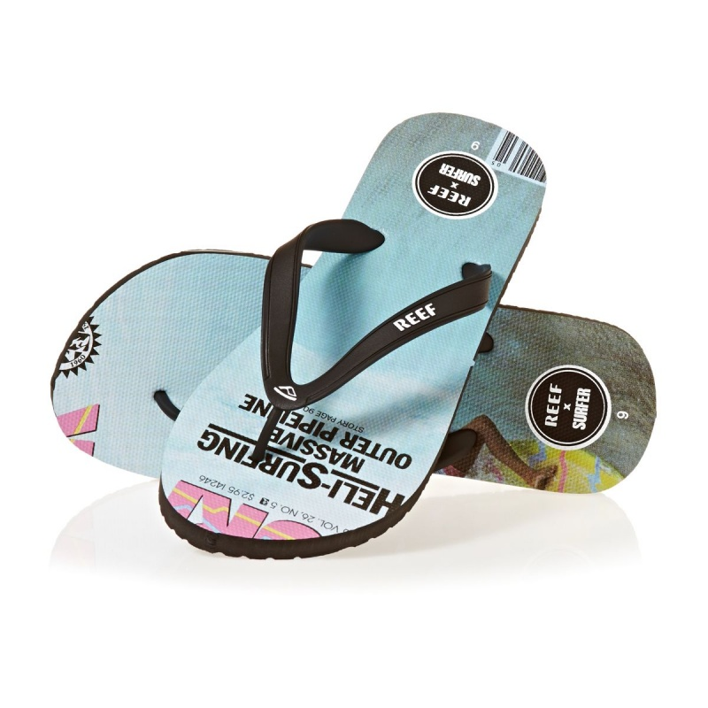 REEF SWITCHFOOT X SURFER FLIP FLOPS MAY OF 85
