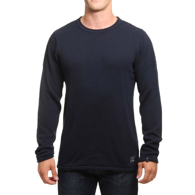 Ripcurl Blocky Sweater Night Sky