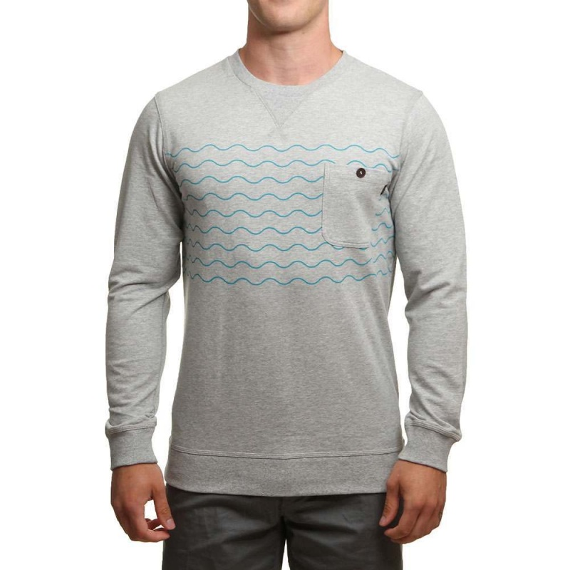 Ripcurl Wavy Party Crew Cement Marle