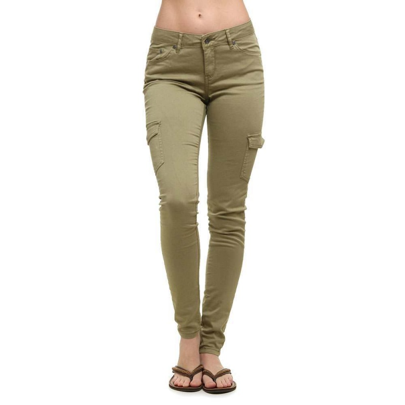 Roxy Cargo City Pants Oil Green