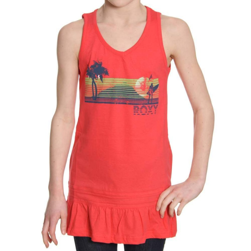 ROXY GIRLS PADDLE D HAWAII HELLO TOP Danno