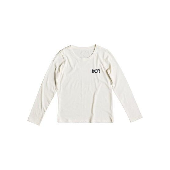 ROXY GRADUAL AWAKENING-LONG SLEEVE T-SHIRT FOR GIRLS 8-16-WHITE