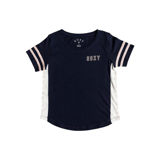 ROXY LUCKY YOU-T-SHIRT FOR GIRLS 8-16-BLUE