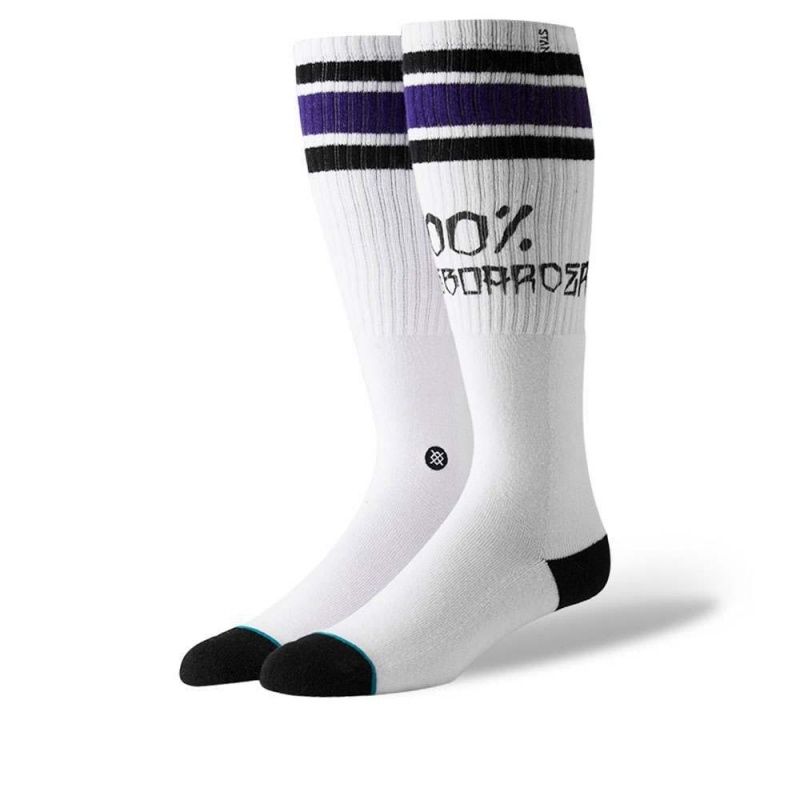 Stance 100 Percent Socks White