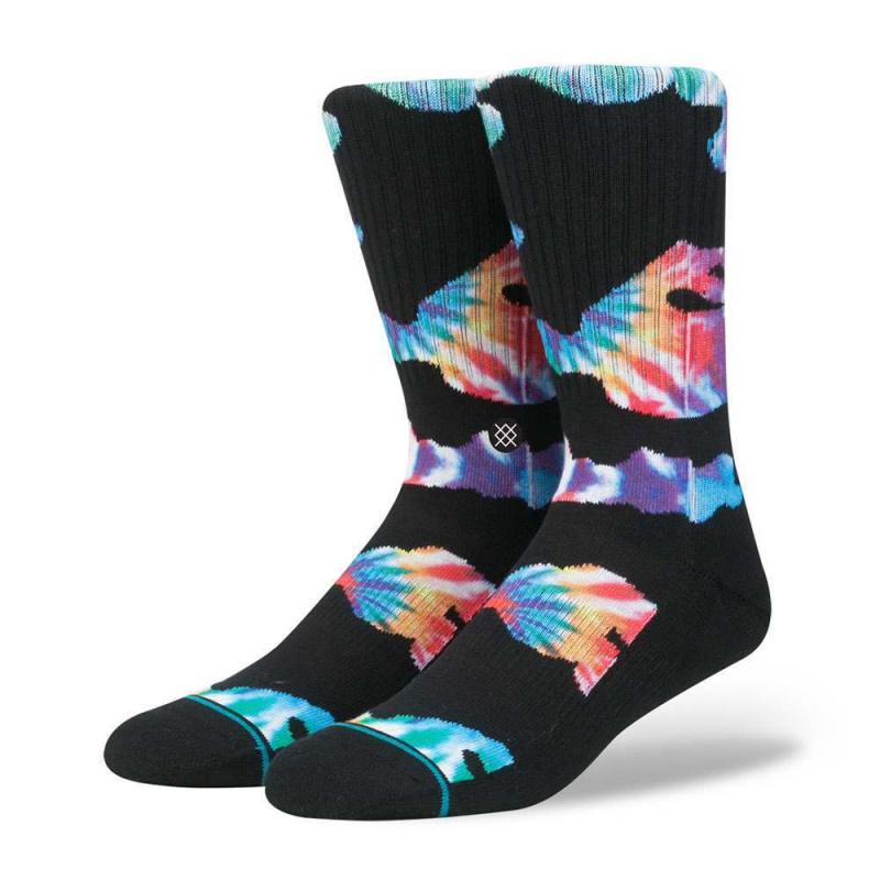 Stance Alphas Socks Black