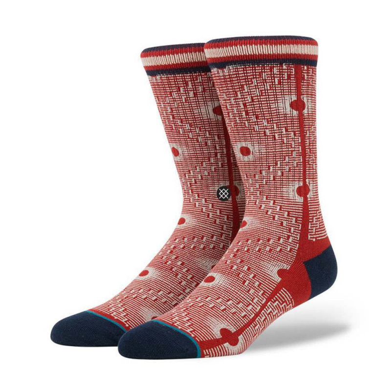 Stance Back Alley Socks Red