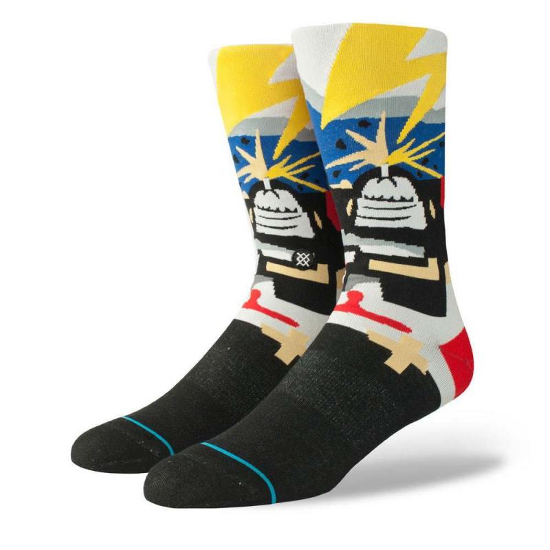 Stance Bad Brains Supertouch Socks Black