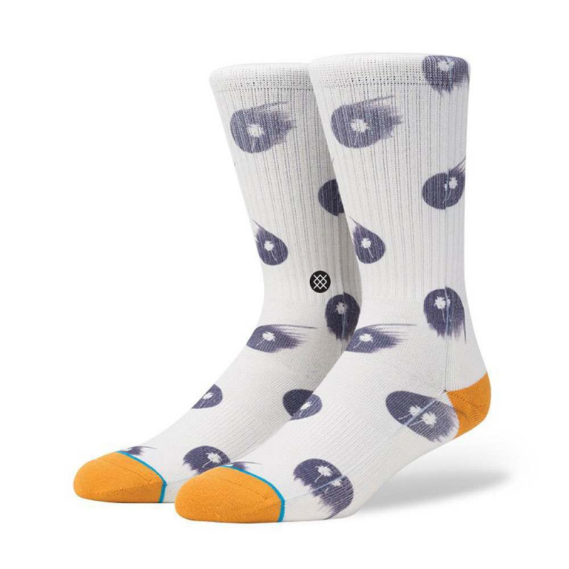 Stance Breez Socks Off White