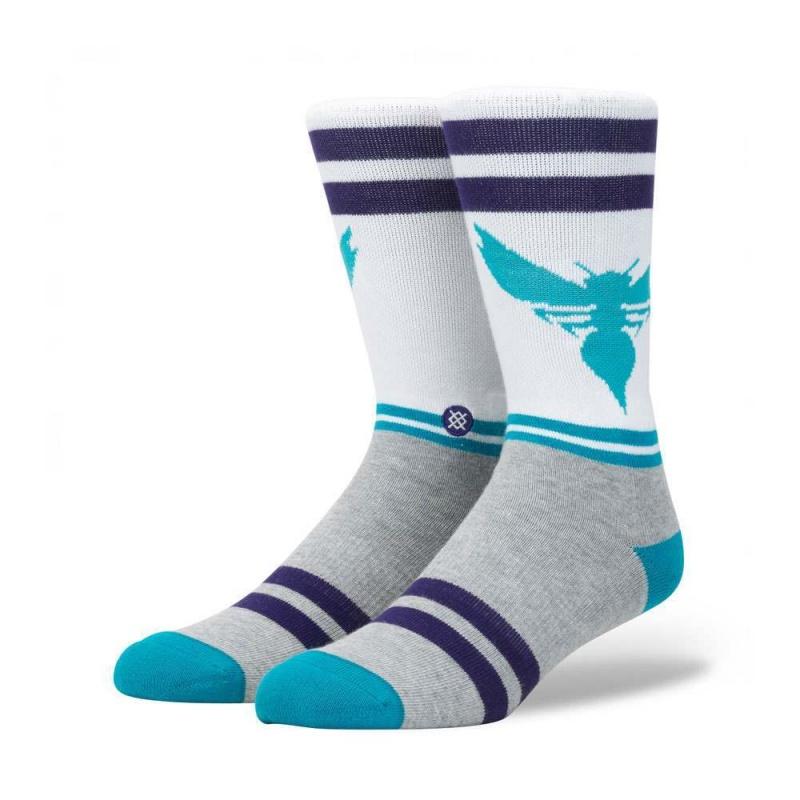 Stance City Gym Hornets Socks White