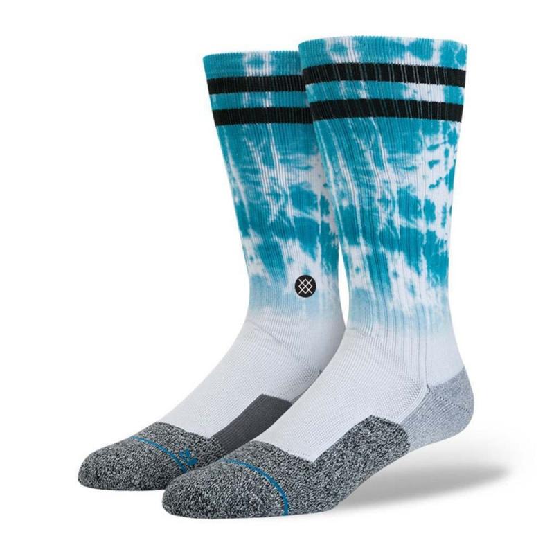 Stance Cloudy Fusion Nyjah Hutson Socks Aqua