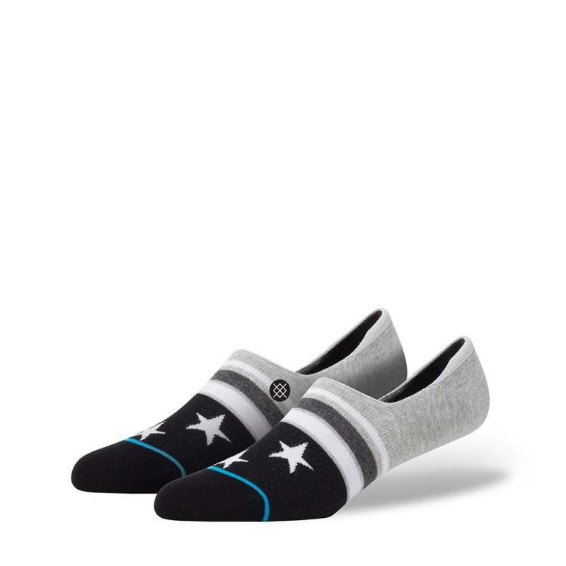 Stance Constellations Low Socks Grey