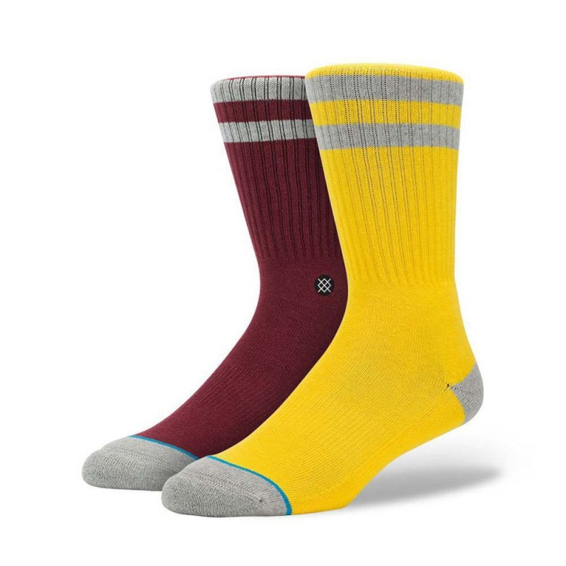 STANCE COSBY SOCKS Yellow