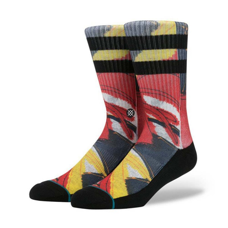 Stance Del Rey Hoffman Fabrics Socks Red