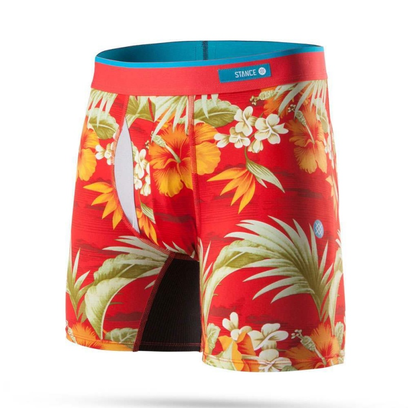 Stance Diamond Head Boxers Red