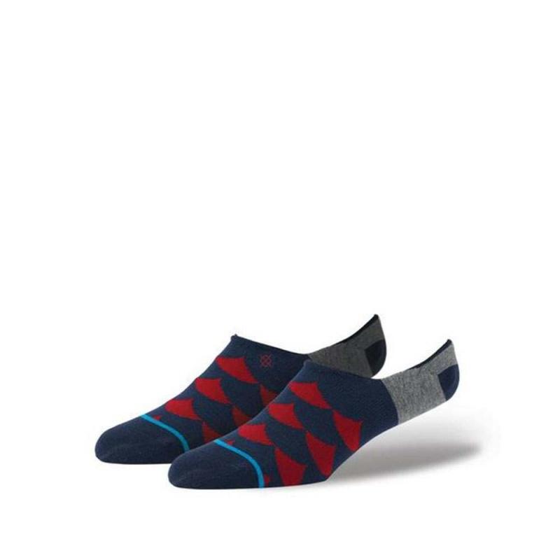Stance Flood Socks Red