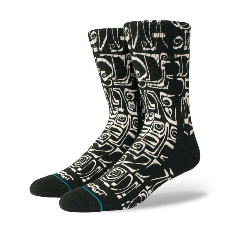 Stance Frost Letters Socks Black